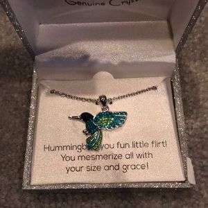 Jewelry - NWT Hummingbird Pendant and Necklace